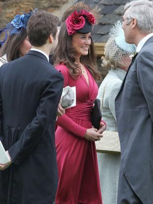 Pippa Middleton, Raspberry Dress