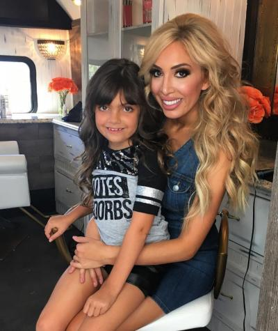 Farrah Abraham Shares Photos From Her Daughters Birthday