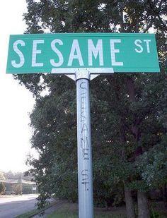 Sesame St.