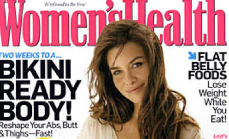 Evangeline Lilly: Women's Health Cover