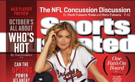 Kate Upton: Sports Illustrated MLB Playoff Preview Issue Cover Girl!