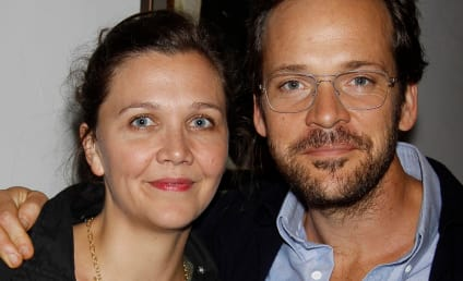 Peter Sarsgaard Looks at Non-Fiancee's Vagina