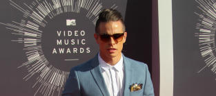 Casper Smart at the 2014 VMAs