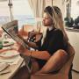 Sofia Richie Reads The News