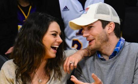 Mila Kunis and Ashton Kutcher: MARRIED!