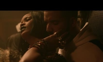 "Rihanna: ""Work"" Video Sparks Rumors of Drake Romance"