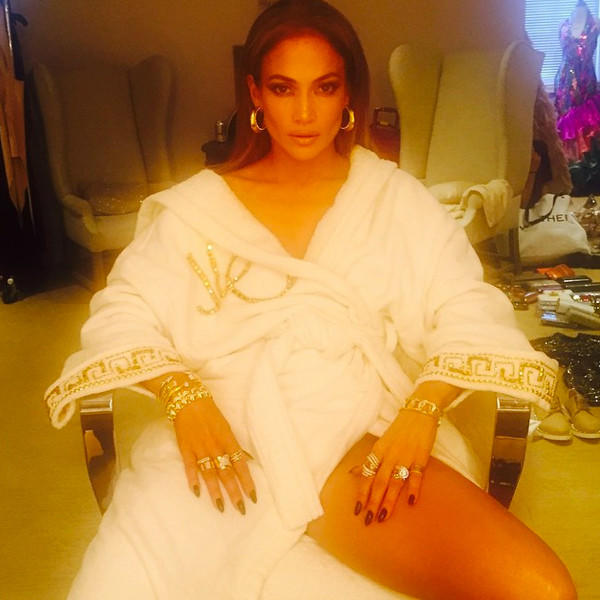 Intimate Jennifer Lopez Photo