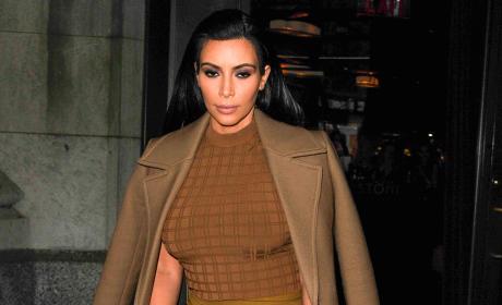 Kim Kardashian, Out in NYC