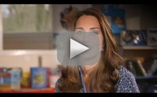 Kate Middleton For Children's Mental Health Week