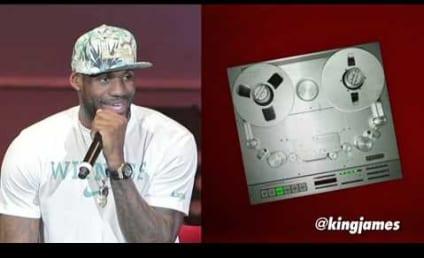 """LeBron James Raps """"N--gas in Paris"""": Listen Now!"""