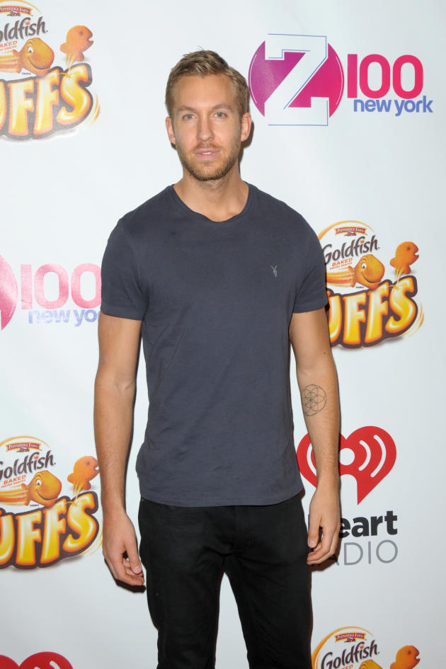 Calvin Harris Red Carpet Image