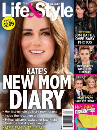 Kate's New Mom Diary