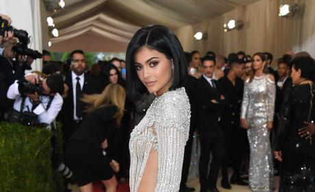 Kylie Jenner Met Gala Balmain Gown