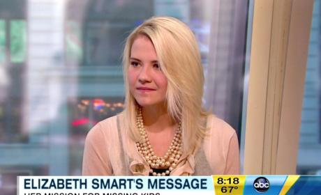 Elizabeth Smart and Matthew Gilmour: Married!