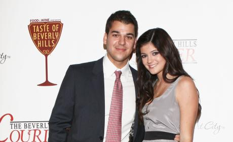 Rob Kardashian and Kylie Jenner: The Taste of Beverly Hills Festival