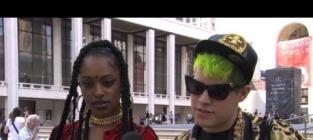 """Jimmy Kimmel Pranks Fashion Week Fans in """"Lie Witness News"""" Segment"""