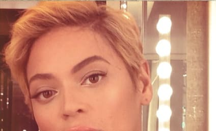 Beyonce Haircut: Extreme! Short! Blonde!