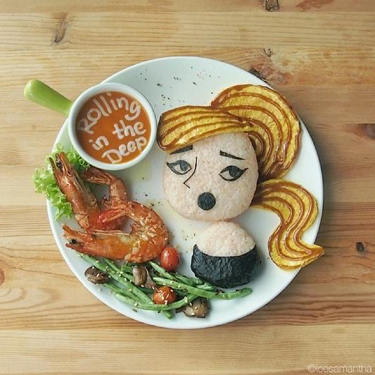 Adele on a Plate