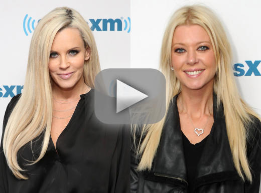 Tara reid clashes on air with jenny mccarthy storms out of inter