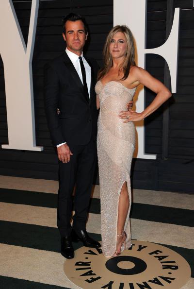 Justin Theroux, Jennifer Aniston Red Carpet Pic