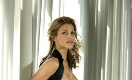 Tricia Helfer Photos: Almost Nude, Entirely Hot