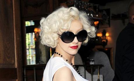 Also Pregnant with Celebrity Gossip: Christina Aguilera