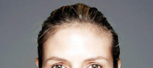 Heidi Klum: Makeup Free for Charity