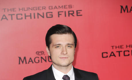 Josh Hutcherson at Los Angeles Premiere