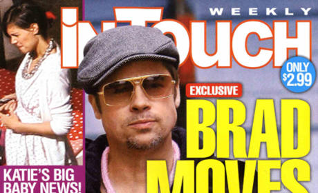 Tabloid Hilariously Reports: Brad Pitt Moves Out, Brangelina Relationship is an Act