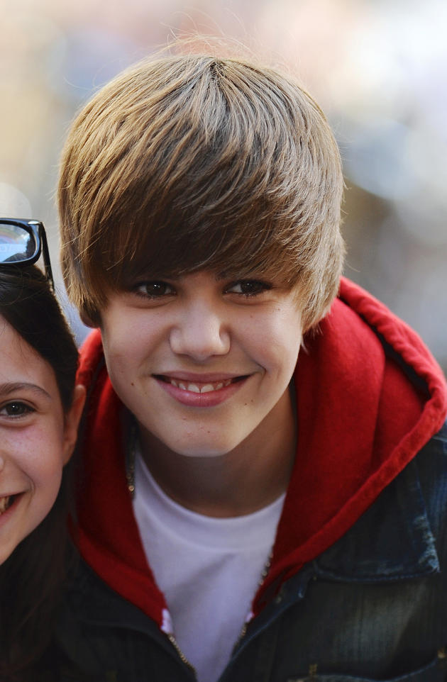 Justin and a Fan