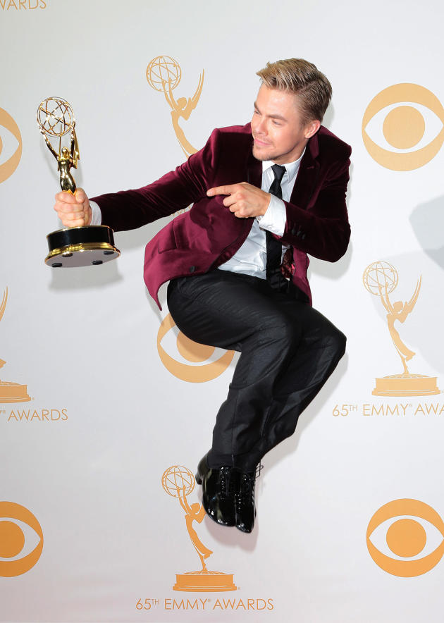 Derek Hough Jumps