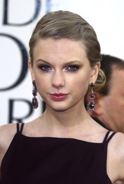 Taylor Swift at the Globes