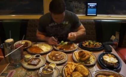 Jamie McDonald Eats ENTIRE Denny's Hobbit-Themed Menu in One Sitting