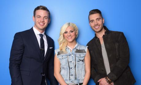 American Idol Final Three