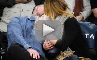 Cameron Diaz and Benji Madden Kiss Cam Alert!