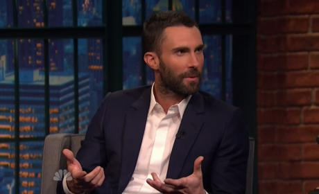 Adam Levine on Seth Myers