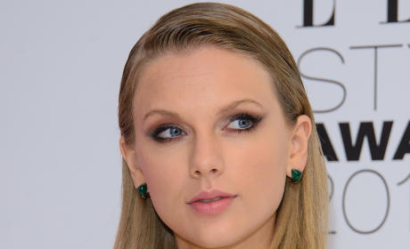 Taylor Swift at Style Awards