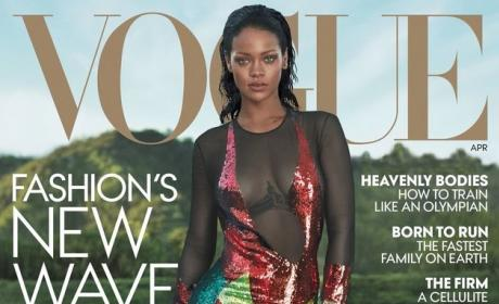 Rihanna Vogue Cover Pic
