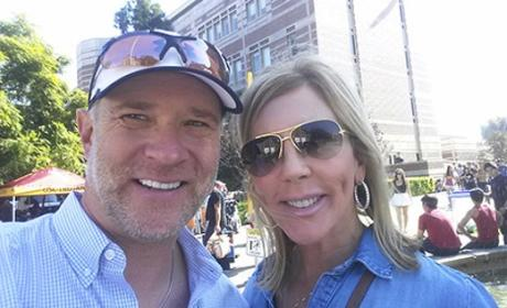 Vicki Gunvalson and Brooks Ayers: Living Together Amid Cancer Battle