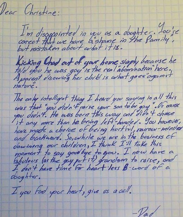 Grandfather's Letter to Daughter