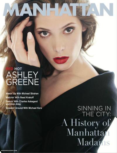 Ashley Greene Manhattan Cover