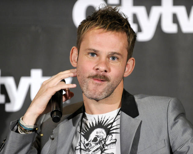 Dominic Monaghan Press Conference Photo