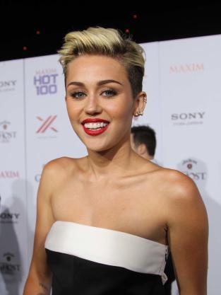 Smiley Miley Cyrus