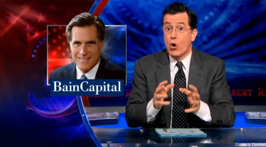 Colbert/Romney