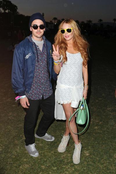 Lindsay Lohan at Coachella