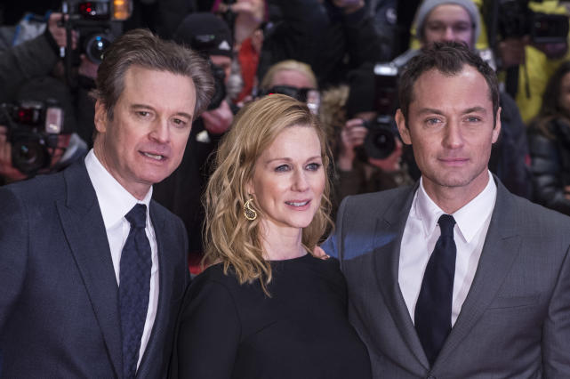 Colin Firth, Laura Linney and Jude Law: 'Genius' Berlin Premiere