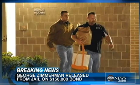 George Zimmerman Released on Bail, Will Await Trial in Undisclosed Location