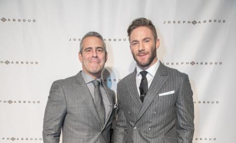 Andy Cohen & Julian Edelman: Joseph Aboud Fashion Show