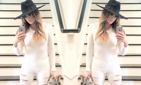 Khloe Kardashian Camel Toe Photo