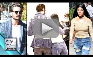 Kourtney Kardashian and Scott Disick Get Friendly
